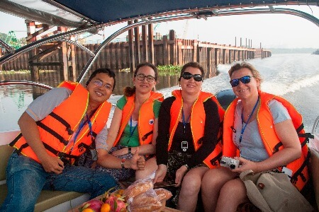 Half-day-Speedboat-Mekong-leisure-biking-afternoon